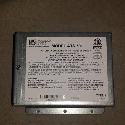 Parallax Power Supply ATS301 30 AMp 120V Generator Switchwww.kswrvsupplies.com